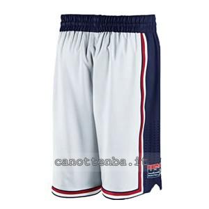 pantaloncini nba fiba usa 1992 bianca