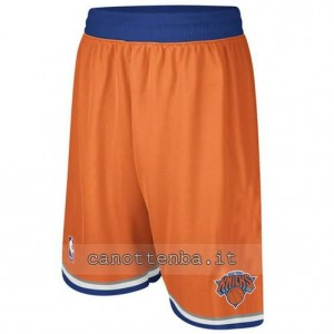 pantaloncini nba new york knicks arancia